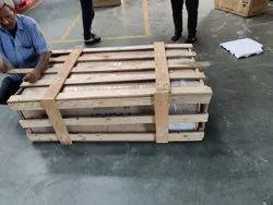 Rectangular 4 Way Industrial Wooden Pallet Box