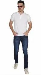 Nirmal Net Polo Neck T-shirt Polyester Fashion T Shirt, Age Group: 15 To 50