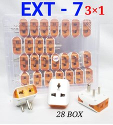4 Socket Extension Board