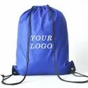Printed Drawstring Carry Bags for Online Packaging bag
