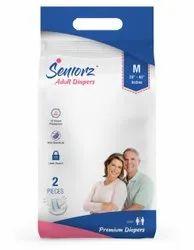 Seniorz Adult Diaper 2pcs pack
