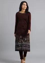 W woolen kurti