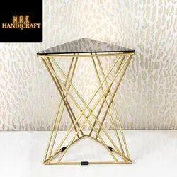 Mak handicraft Polished Coffee Table Iron, For Home