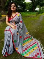 Khesh Applique Saree