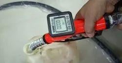Diesel dispensing nozzle with Digital flow meter