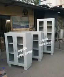 Glass door cupboarc