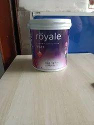 Asian paint Royale matt, Bucket, 4 ltr