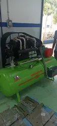 Reciprocated air compressor