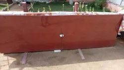 Big Slab Polished Lakha Red Marble, For Flooring, Thickness: 10-15 mm