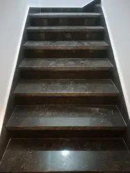 Black Granite Steps Fixing Service