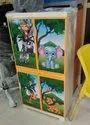 Nilkamal Jungle Kids Plastic Cupboard