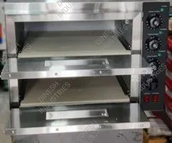 Double Deck Stone Pizza Oven