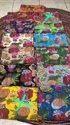 Handmade Women Make  Kantha Bedcover