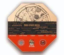 Octagon pizza box