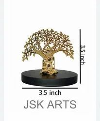Gold plated swami  tree