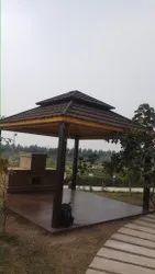 Wood Outdoor Gazebo Construction Service
