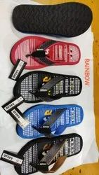 Black EVA Flip Flop Footwear, Size: 6 To 9