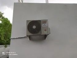 3 Star Toshiba Split Air Conditioning System, Coil Material: Copper