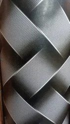 Black and White Rectangular Matte PVC Flooring Carpet