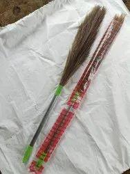 Steel Handle Floor Broom