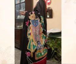 Pichwai Art Sarees
