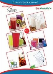Transparent plastic Water juice glass, Size: 300ML