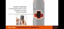 BLACK & DECKER BD40K4 Cordless Smart Screwdriver