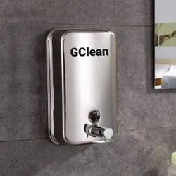 500ml/800ml/1000ml Stainless Steel Liquid Soap Shampoo Dispensers for Bathroom 500ml