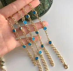 Semi Precious Stone Beaded Bracelet