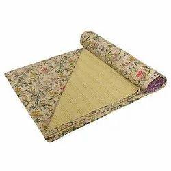 Indian Kantha Bedspread By Meera Handicrafts