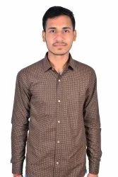 Party Wear Cotton SBRG Fashion Fit Life Hit Causal Shirts, Size: 40
