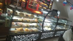 Bakery And Sweet Display Counter