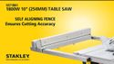STANLEY TABLE SAW SST1801-B1 1800watts 10