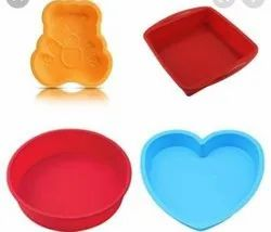 Silicone food grade cake moulds