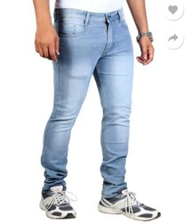 Own Sky blue Stretchable Denim Jeans