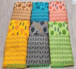 Multicolor Printed Cotton bagru prints, Jodhpur