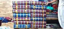Cotton Check Mattress Fabric 1