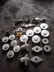 Brass Parts, For Industrial, Chrome