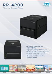 Tvse RP 4200, Max. Print Width: 4 inches, Resolution: 203 DPI (8 dots/mm)