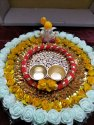 Decorative Rakhi Puja Thali