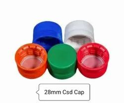 HDPE Round 28mm CSD Soda Bottle Cap, Packaging Type: Box