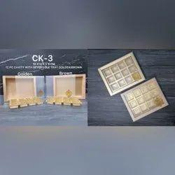 Window Kraft Paper Chocolate Box