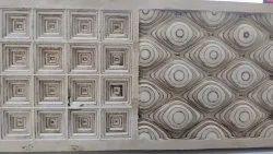 Brown Mdf Jali Cutting, Cnc Design 2d And 3 D, Size/Dimension: 8x4