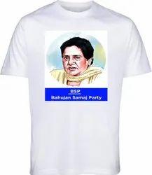 BSP Election T-Shirt 120 GSM Election Campaign T-Shirt