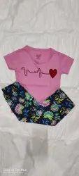 Mahi 5 colours Kids Printed Pyjama Set, Size: 2 Years To 10 Years