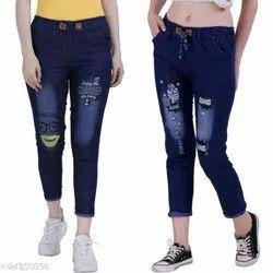 Regular Bottom Woman Jeans