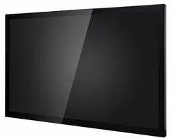 VDU - Visual Display Unit Of Railway Signal Control Monitor Display