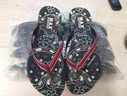 Fancy Ladies Flat Pu Slippers