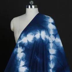 Indigo Tie Dye Cotton Dyed Shibori Fabric By Mhtindia