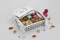 Square Dry Fruits Box, Box Capacity (In gms): 250 gms